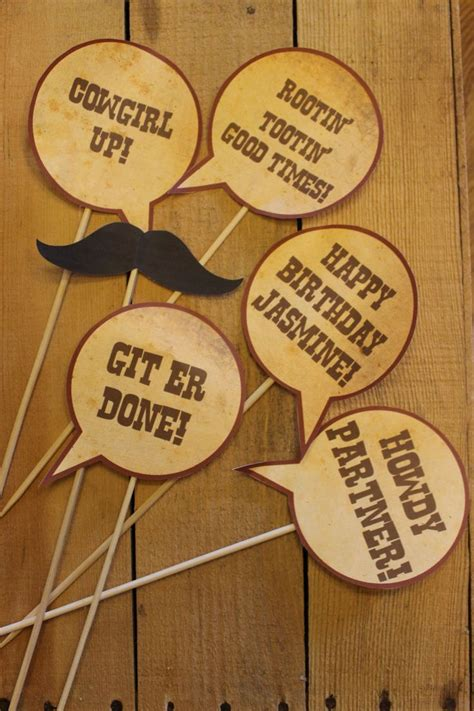 free printable photo booth props cowboy 1000 images about cowboy props on pinterest cowboys and