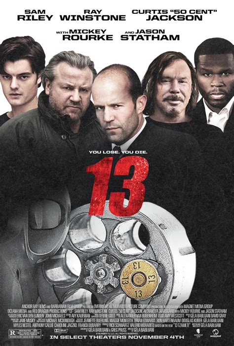13 film jason statham download an intense first trailer poster for 13 starring jason