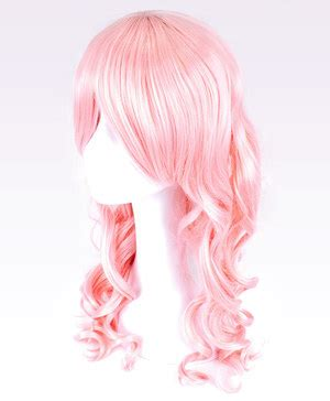 Candydoll Wig Blue Pink pink wavy wig pinkyparadise