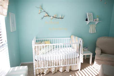 Baby nursery the littlest birds sing the prettiest songs design