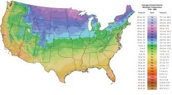 plant hardiness zone map the tree center
