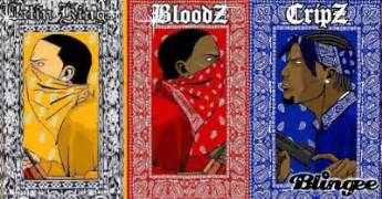 crips and bloods colors crips picture 1493545 blingee