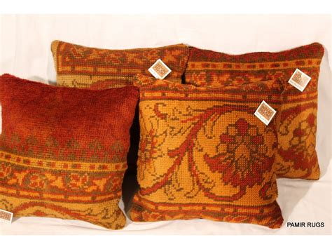 Handmade Pillows For Sale - set of two decorative handmade pillows made out of antique