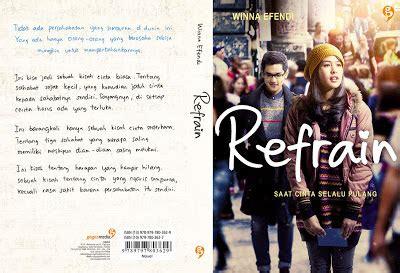 Tomodachi Oleh Winna Efendi Gagasmedia winna efendi s official bocoran cover refrain edisi