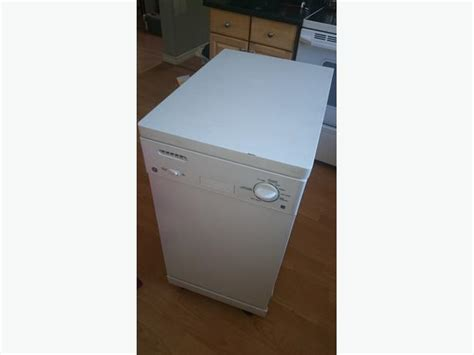 Portable Dishwasher In Apartment General Electric Portable Dishwasher 18 Inch Apartment