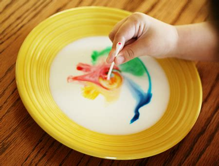 color changing milk experiment science play simple experiments let s explore