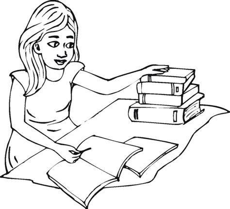 Free School And Education Coloring Pages Student Coloring Pages