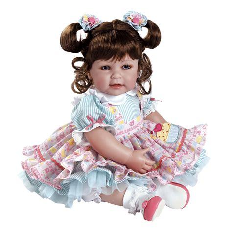 Doll Premium adora dolls adora premium quality play doll 20 quot of cake brown hair blue toys