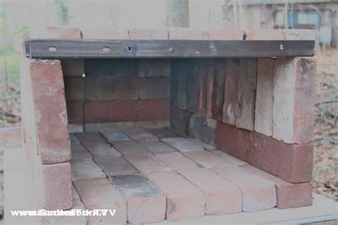 diy clay bricks portable backyard brick oven diy style and plans