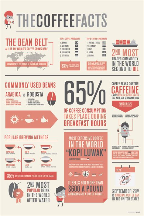 design inspiration infographics the coffee facts infographic infographic list