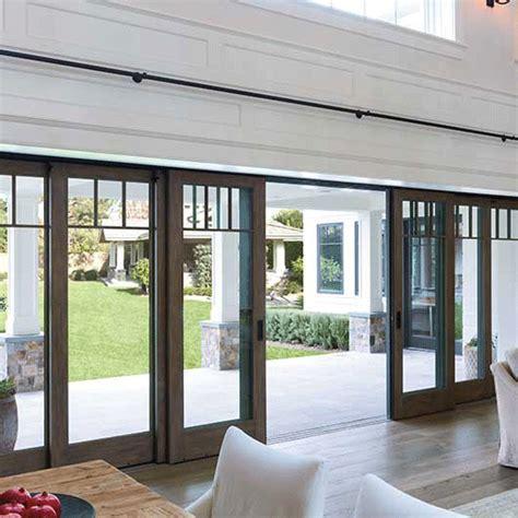 Multi Slide Patio Doors Architect Series Multi Slide Patio Door Pella Patio Doors Deck Patio Doors