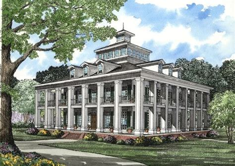 southern plantation home plans plantation house plan alp 0730 chatham design group