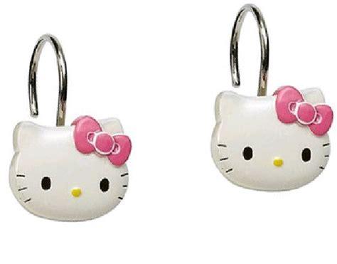 hello kitty shower curtain hooks hello kitty shower curtain hooks rings