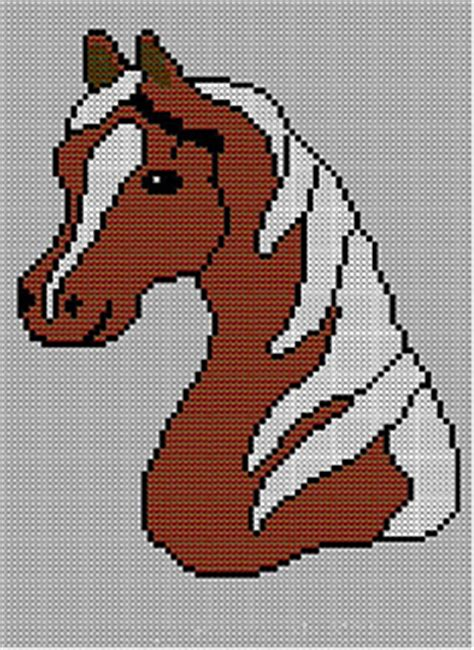 horse pattern jumper ravelry childrens adults horses head jumper sweater