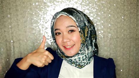 tutorial hijab pashmina satin dian pelangi tutorial hijab satin dian pelangi youtube