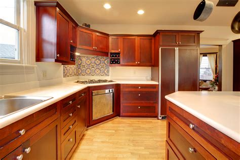 Mahogany Kitchen Cabinets by Mahogany Kitchen Cabinets Modernize