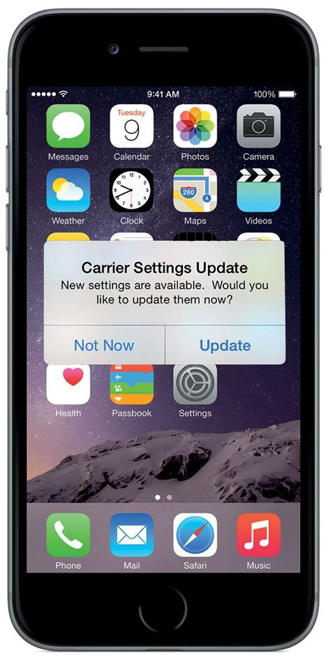 iphone update how to update your iphone carrier settings