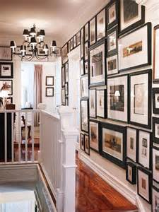 Decorating Ideas For Upstairs Hallway Hanging Family Photos Hallway