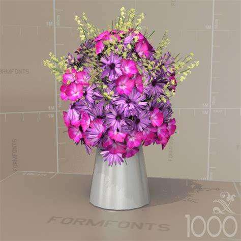 flowermodels com flowers bouquets set 10 3d model formfonts 3d models