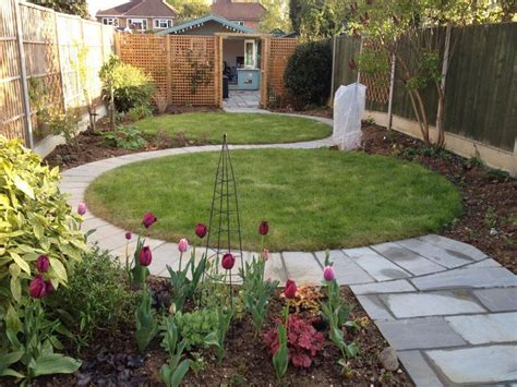 Rear Garden Ideas My Garden Circular Lawn Design Is Gradually Taking Shape Garden Gardens The Two