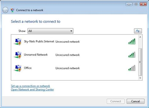 connect to connecting to wi fi networks using windows vista
