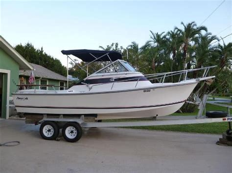 Cabin Boat For Sale by Cuddy Cabin Shamrock Boats For Sale Boats
