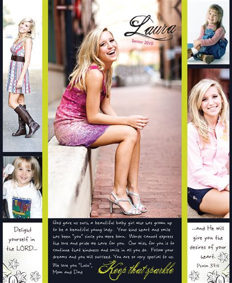 yearbook ad layout yearbook senior page layout www pixshark com images