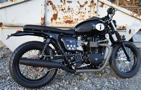 Motorrad Denk by Umgebautes Motorrad Triumph Bonneville T100