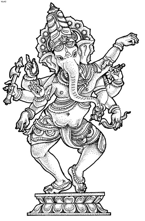 india coloring pages for adults ganesha coloring pictures ganesh chaturthi coloring