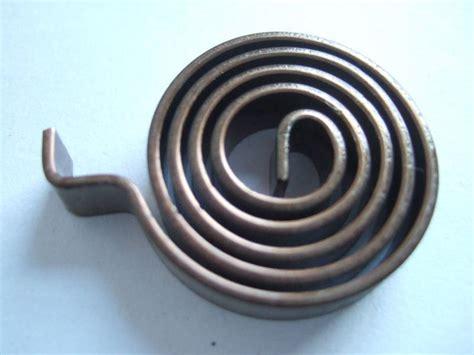 Bi Metal bi metal thermostat coil spiral part on silicone fan