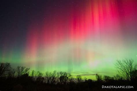 spectacular borealis light show in america
