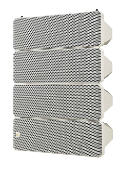 Speaker Toa Line Array toa hx 7w wp 750w weatherproof line array speaker system in white with 10 5 woofers and 4 1