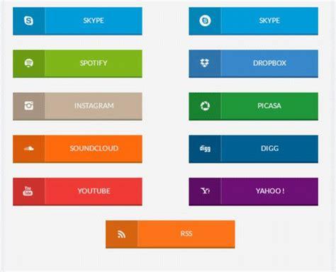 Button Flat 118 flat design buttons elements ui kits for graphic designers free premium templates