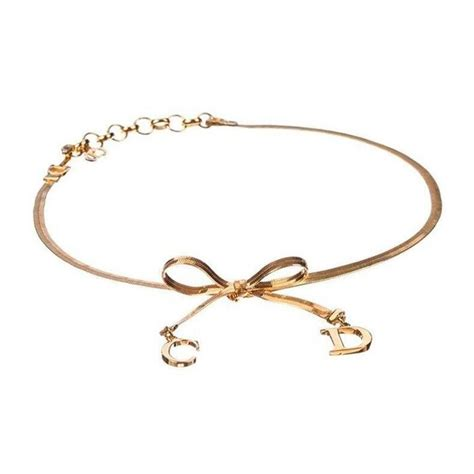 christian bow choker necklace for sale at 1stdibs
