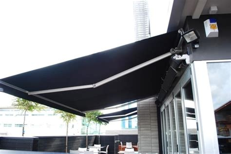 lateral arm awning kolorful kanvas retractable crank operated or motorised