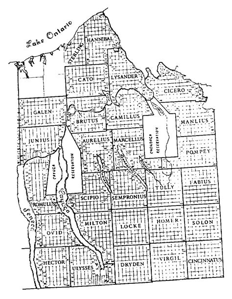 Seneca County Records Tract Maps