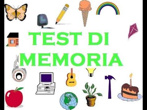 test memoria test di memoria rapida gioco test quiz interattivo