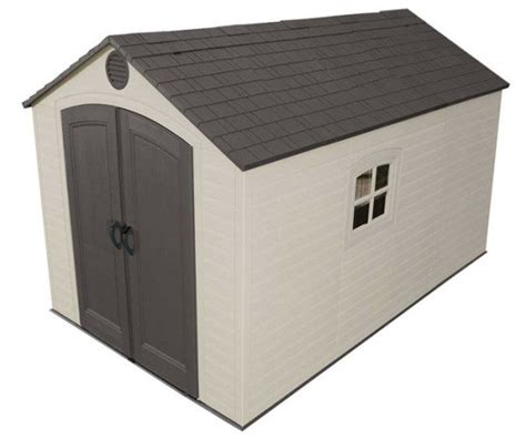 Lifetime Shed 6402 by Lifetime Plastic Storage Shed 6402 8x12 5 Building