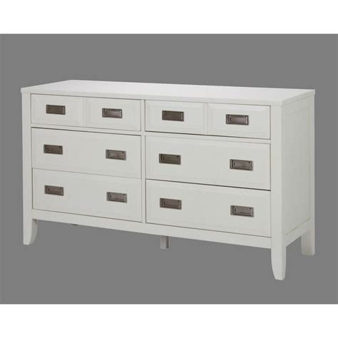 6 Drawer White Dresser by Home Styles Newport 6 Drawer White Dresser 5515 43 The