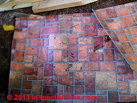 brick pattern vinyl tile how to identify resilient flooring or sheet flooring that