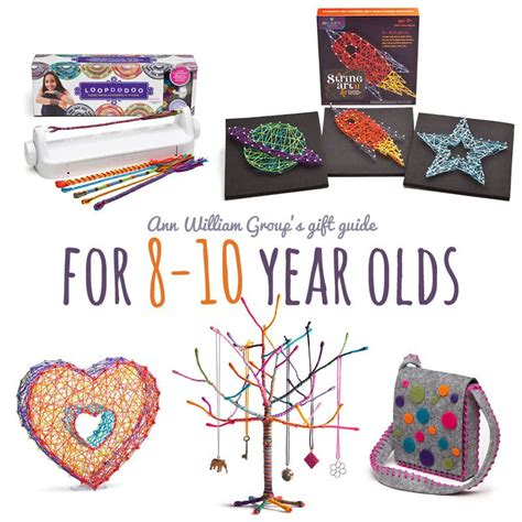 crafty gift ideas for the 8 to 10 year old on your list