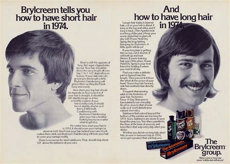 60s mens hair gel vintage hair adverts 1960s 70s products styles and