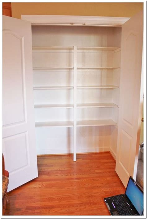 Easy Pantry Shelves by Pantry Doors And Shelves Kitchen Dining