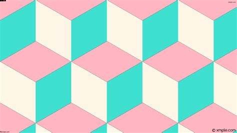 wallpaper pink and turquoise wallpaper 3d cubes white blue pink ffb6c1 fdf5e6 40e0d0