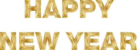new year gold images clipart happy new year gold