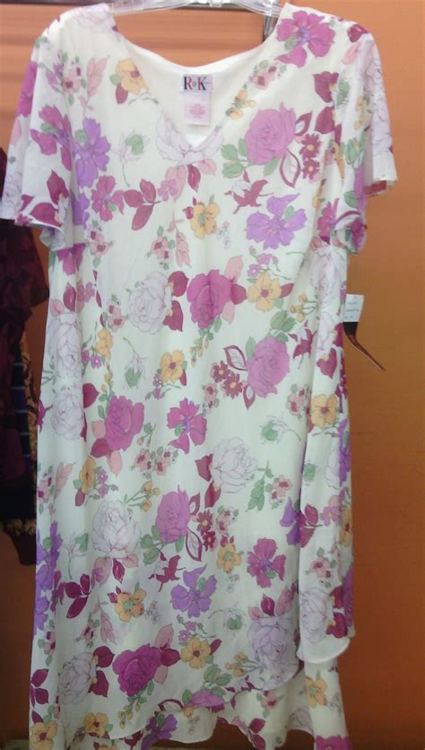 24908 White Pink Flower Size L nwt white dress with pink and purple flowers by r size