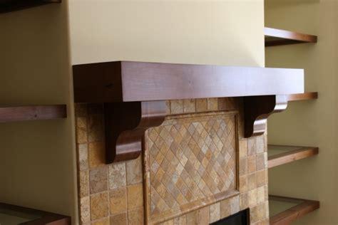 Hickory Mantel Shelf rustic alder mantel and floating shelves w l rubottom