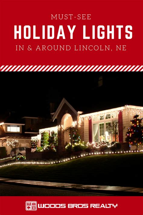 best christmas light displays in lincoln ne must see lights in and around lincoln woods bros realty