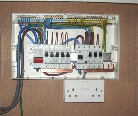 split load consumer unit wiring diagram load free