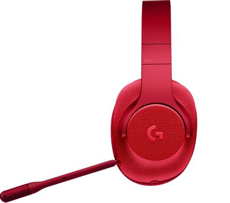 Headset Gaming Logitech G433 7 1 buy logitech g433 7 1 gaming headset free delivery
